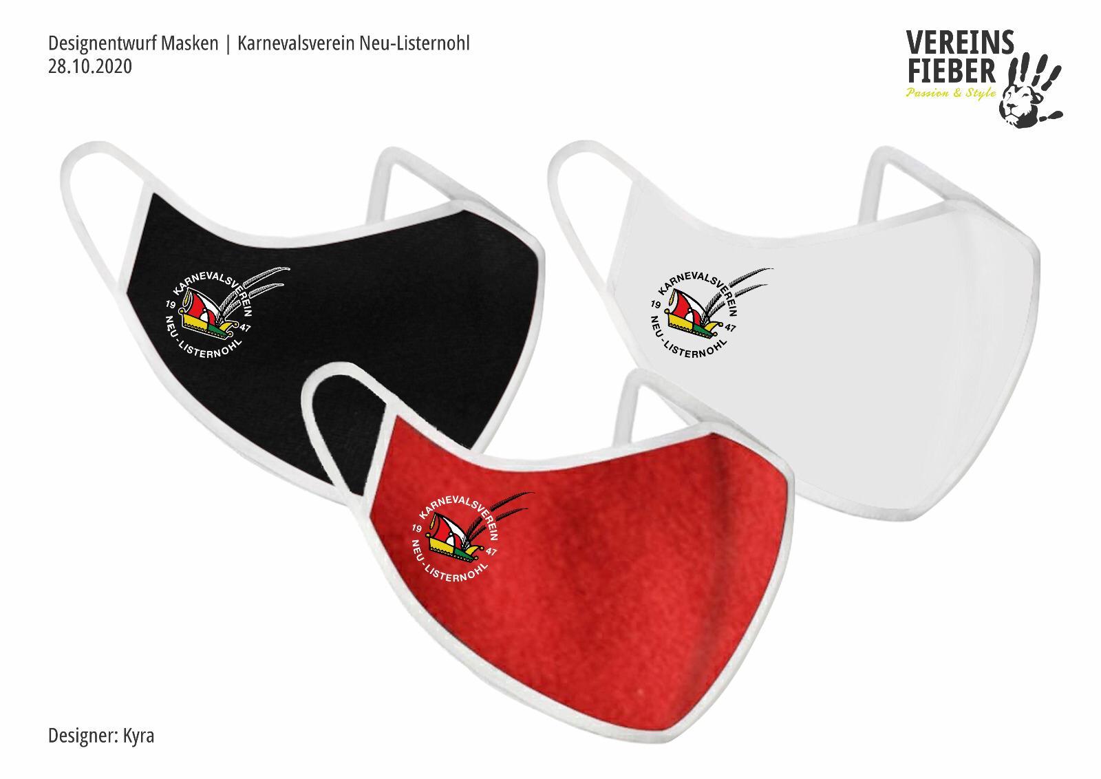 KVNL Vereinsmaske (Mund-Nasenschutz)
